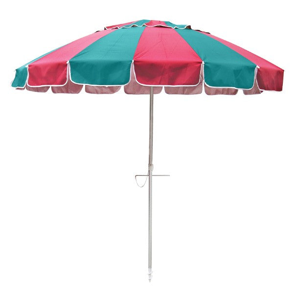 Beachkit Carnivale 240 cm Red and Turquoise