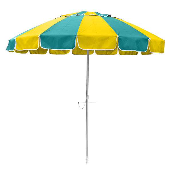 Beachkit Carnivale 240cm Yellow and Turquoise