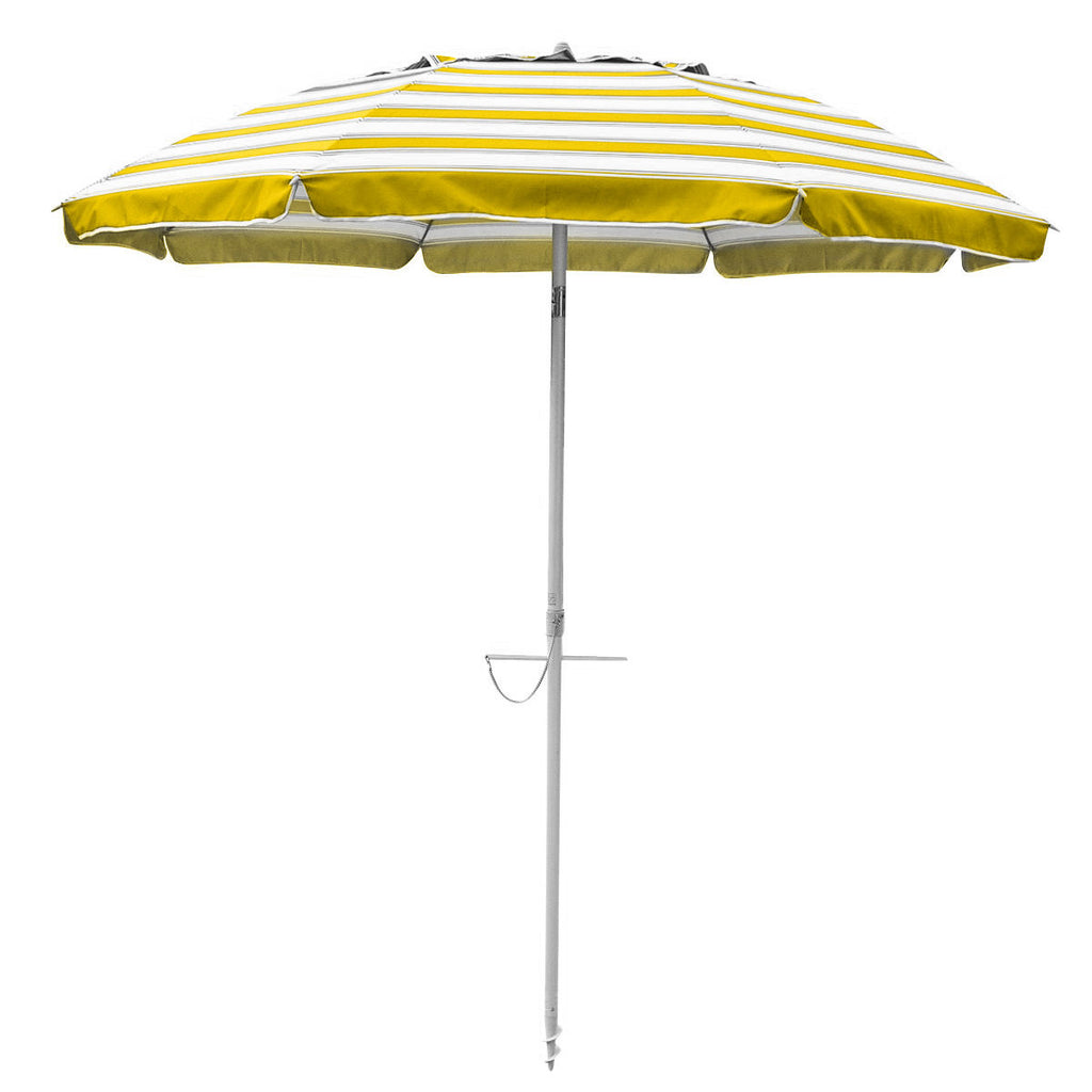 Beachkit Daytripper 210cm Yellow and White