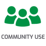 Community Use Badge