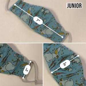 Junior Mask Dimensions