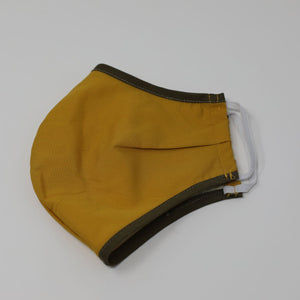 N95 Cover Mustard Green Side View