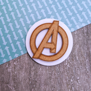 Laser cut Avengers inspired brooch pin | Badge, Fantasy collection