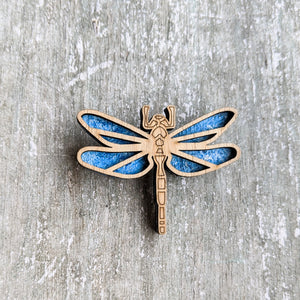 Laser cut Dragonfly brooch pin | Badge, Fantasy collection