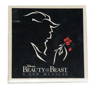 Beauty and the Beast Trivet