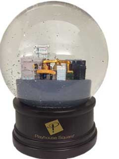 Playhouse Square Musical Snow Globe