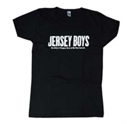 Jersey Boys Babydoll T-Shirt (Black)