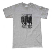 Jersey Boys Logo T-Shirt (Grey)