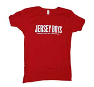 Jersey Boys Babydoll T-Shirt (Red)