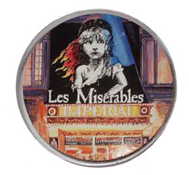 Les Miserables Coaster Set