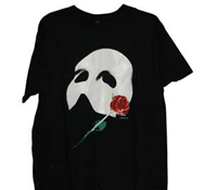 The Phantom of the Opera (Mask w/Rose) T-Shirt