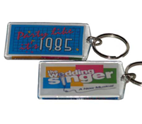 The Wedding Singer Keychain