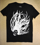 Super Dread Natty Dreadlocks T-Shirt - Black