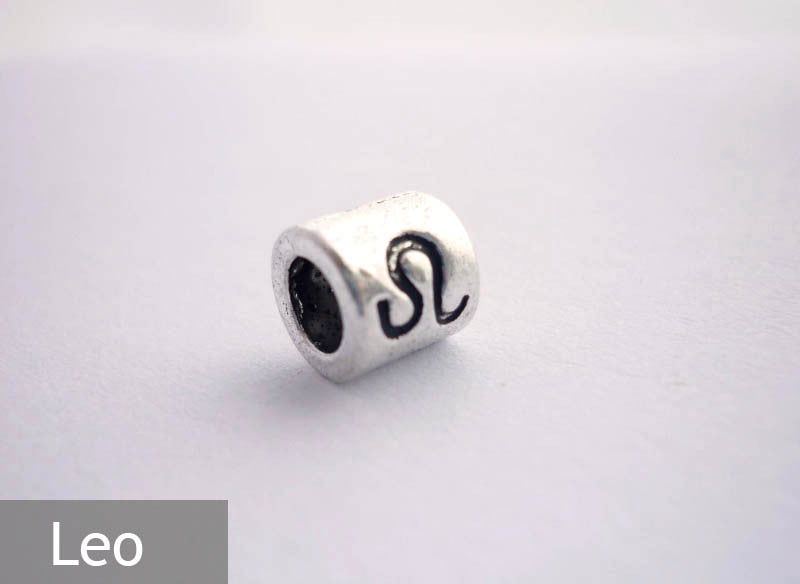 Leo Horoscope Dreadlock Bead