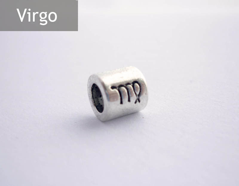 Virgo Horoscope Dreadlock Bead