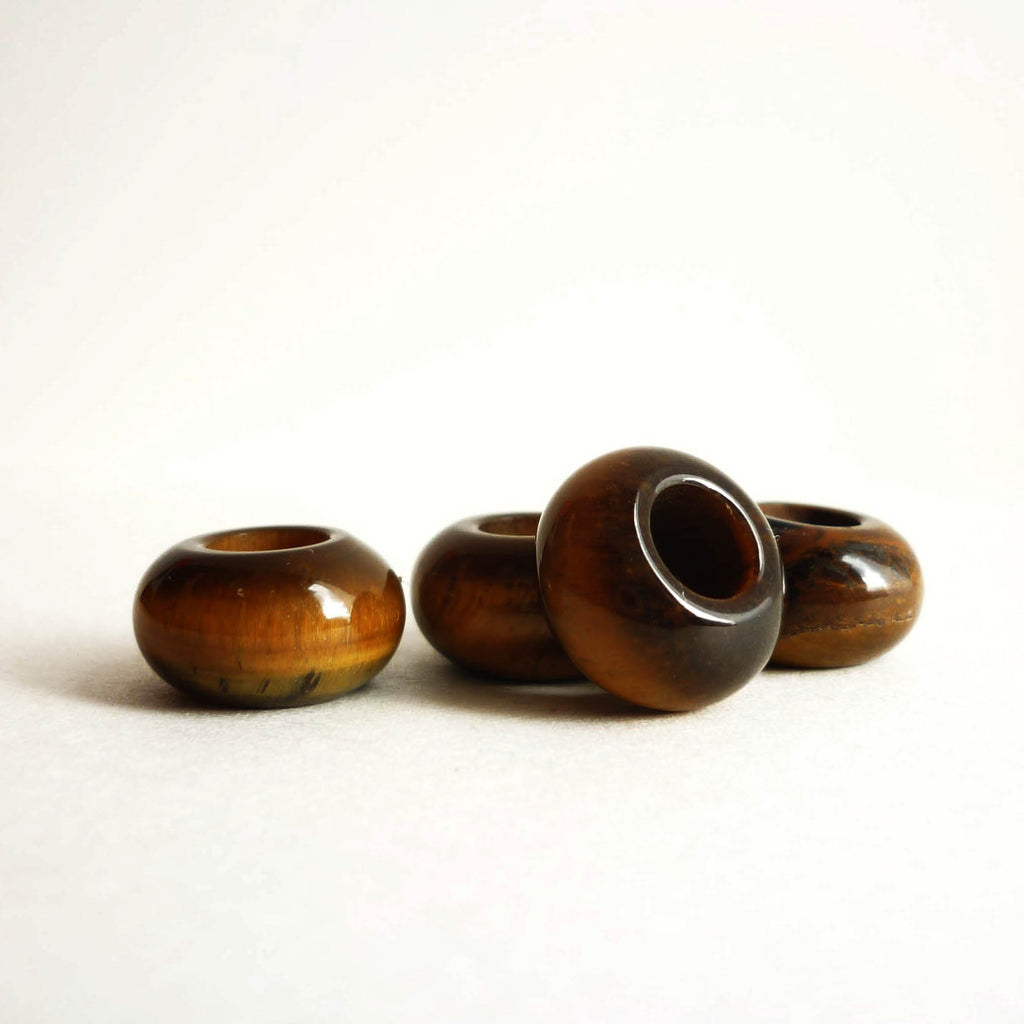 Tiger's Eye Stone Dreadlock Bead