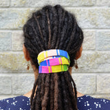 Thin Pastel Long Dreadlock Hair Tie