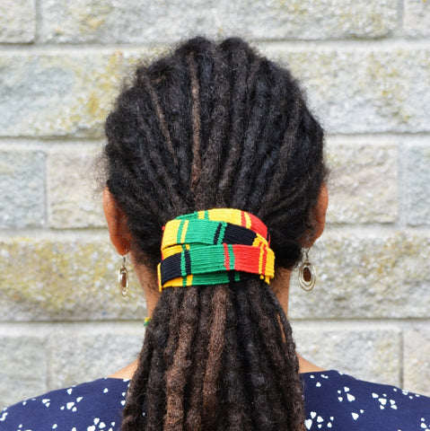 Thin Rasta Long Dreadlock Hair Tie