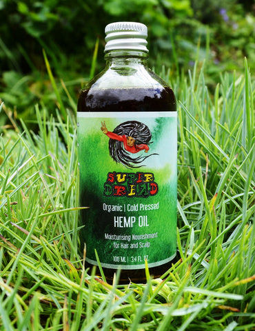Organic Cold Pressed Hemp Oil