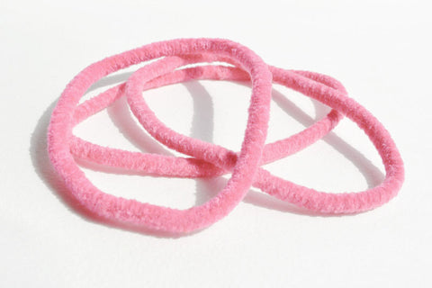 Large Stretchy Hair Band - Light Pink