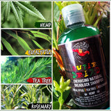 Super Dread Natural Dreadlock Shampoo - Hemp, Eucalyptus, Tea Tree and Rosemary