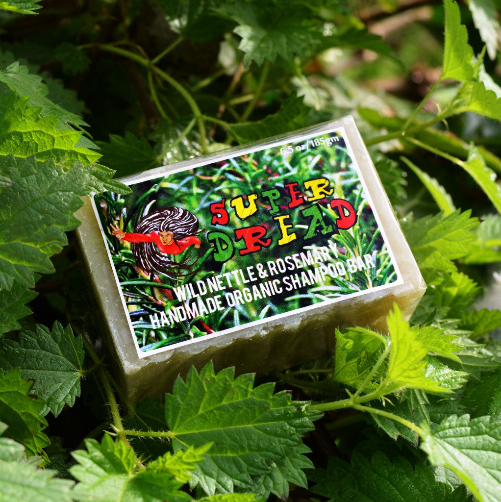 Super Dread Nettle and Rosemary Dreadlock Shampoo Bar