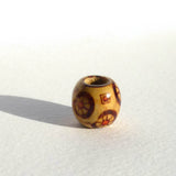 Shapes Pattern Wooden Dreadlock Bead