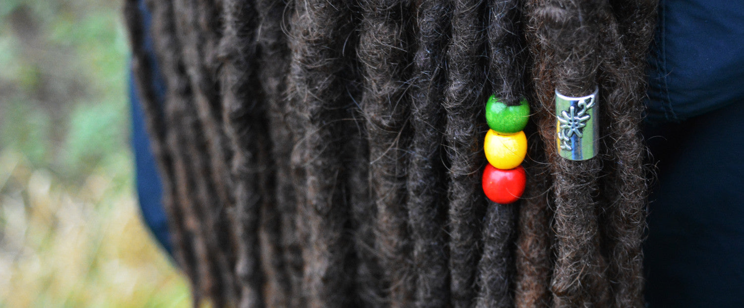 Dreadlock Beads Locks Jewellery Dread Stickers Pin badges