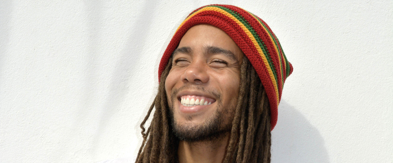 Dreadlock Hats Dread Tams Rasta Beanies Hairbbandes