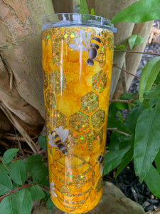 Honey Bee Peekaboo Tumbler