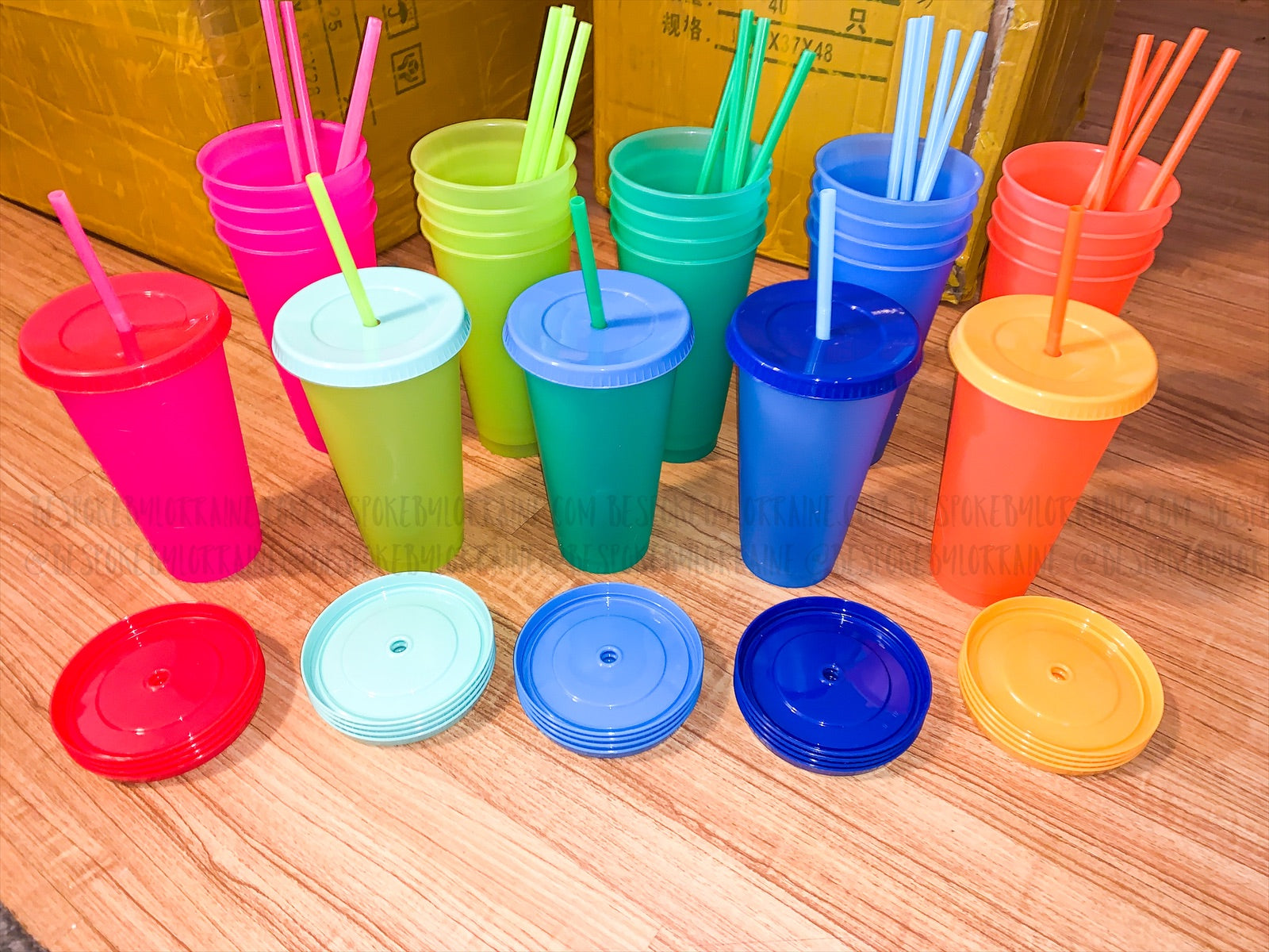 Color Changing Cold Cups