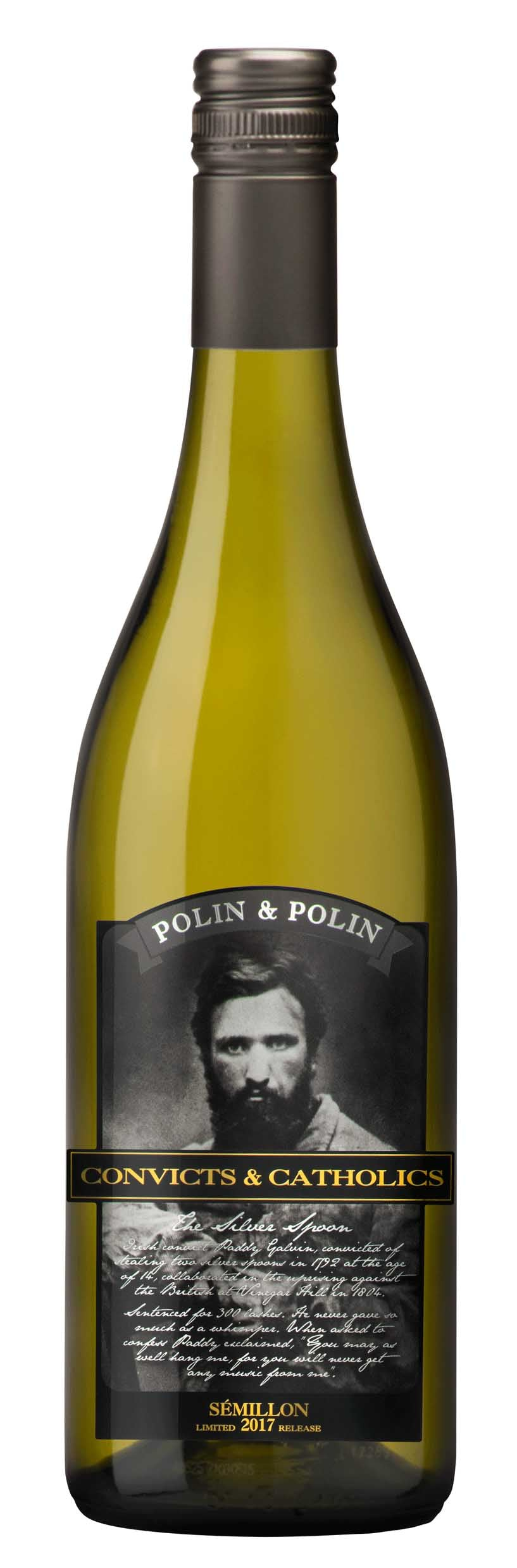 2017 Convicts & Catholics Semillon (WP)