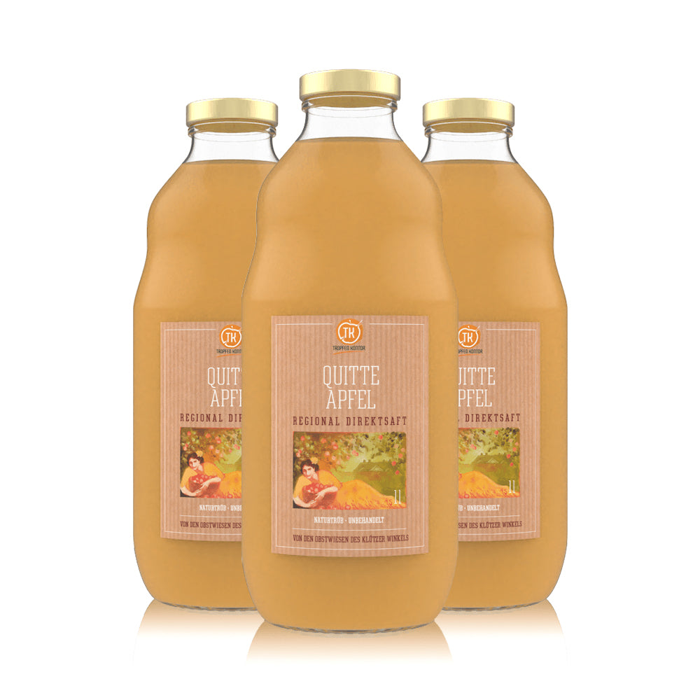 Quitte-Apfelsaft - [product-vendor] - 3 Flaschen - 3L - [product-type]