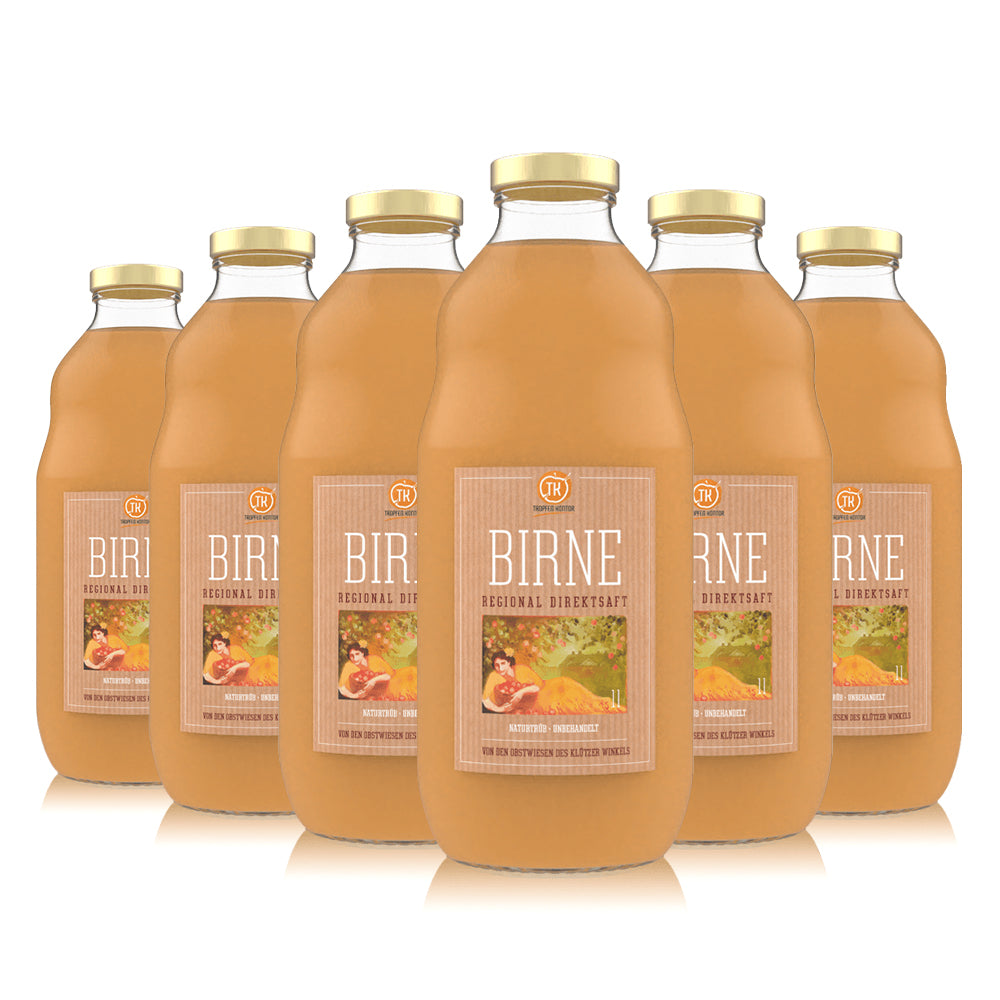 Birnensaft Regional - [product-vendor] - 6 Flaschen - 6L - [product-type]