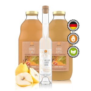 Birne-Saft und Williams Christ Birne SET