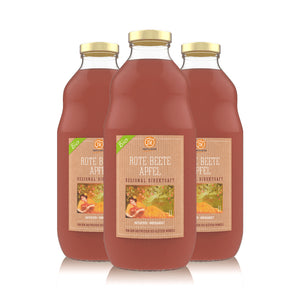 BIO Rote Beete Apfelsaft - [product-vendor] - 3 Flaschen - 3L - [product-type]