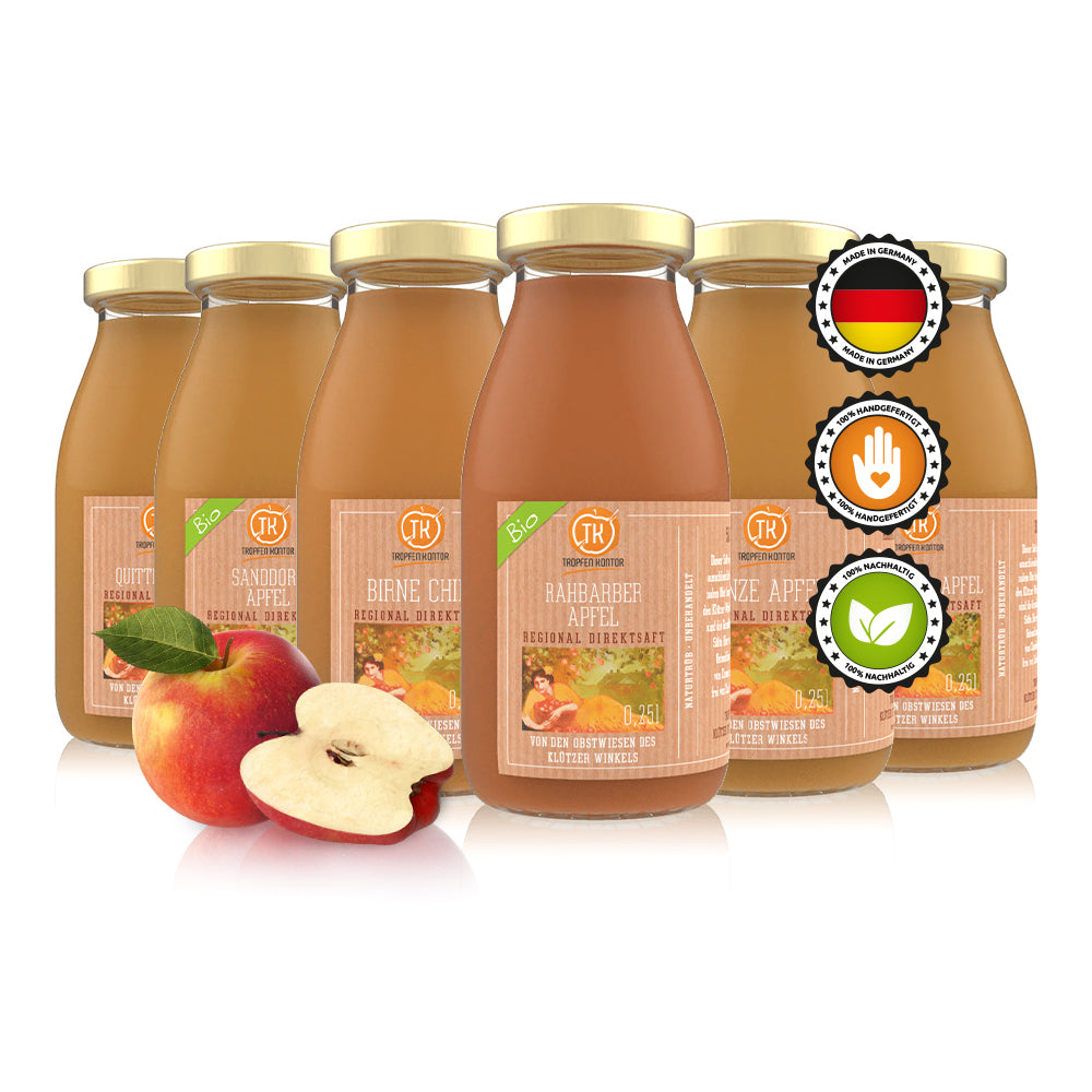 Apfelsaft Probierset 0,25L SET - [product-vendor] -  - [product-type]