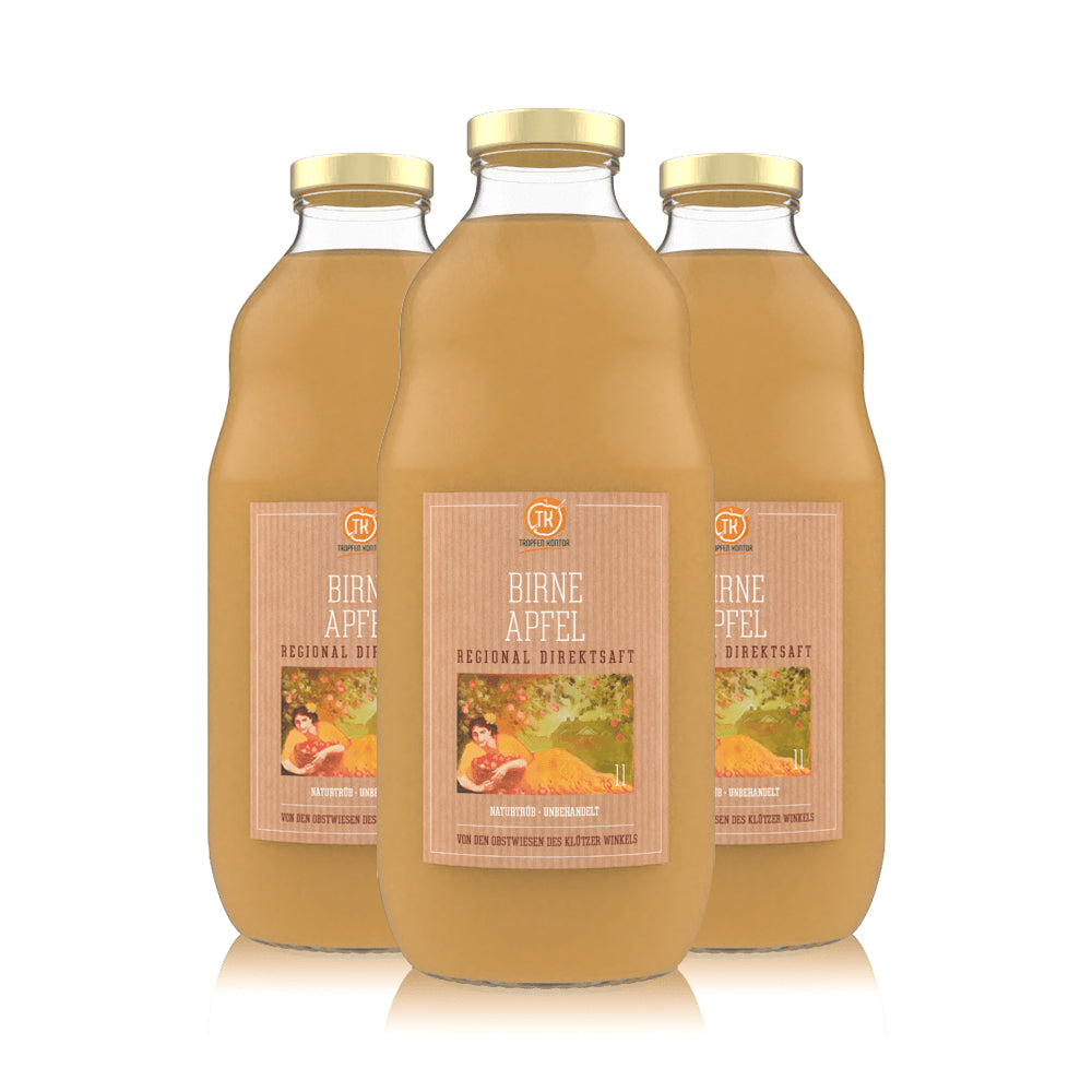 Birne Apfelsaft - [product-vendor] - 3 Flaschen - 3L - [product-type]