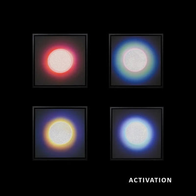 ACTIVATION - CHAKRA CANVAS - SET OF 4 , 2020