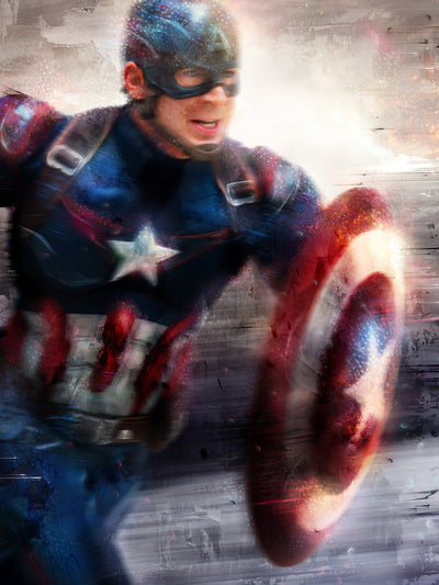 Captain America 'I can do this all day'