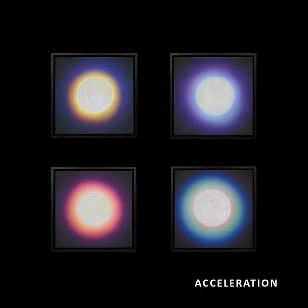 ACCELERATION - CHAKRA CANVAS - SET OF 4, 2020