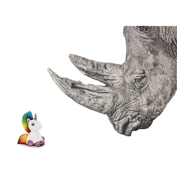 Unicorns do Exist Giclee Print