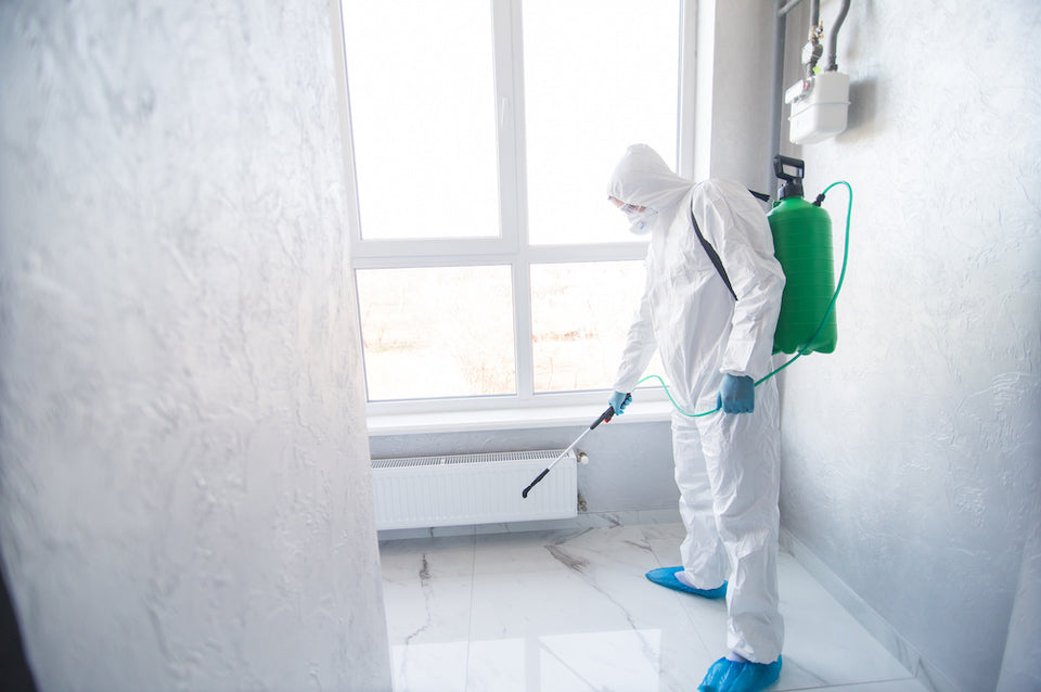 Blue Science Solutions for mold remediation and restoration.