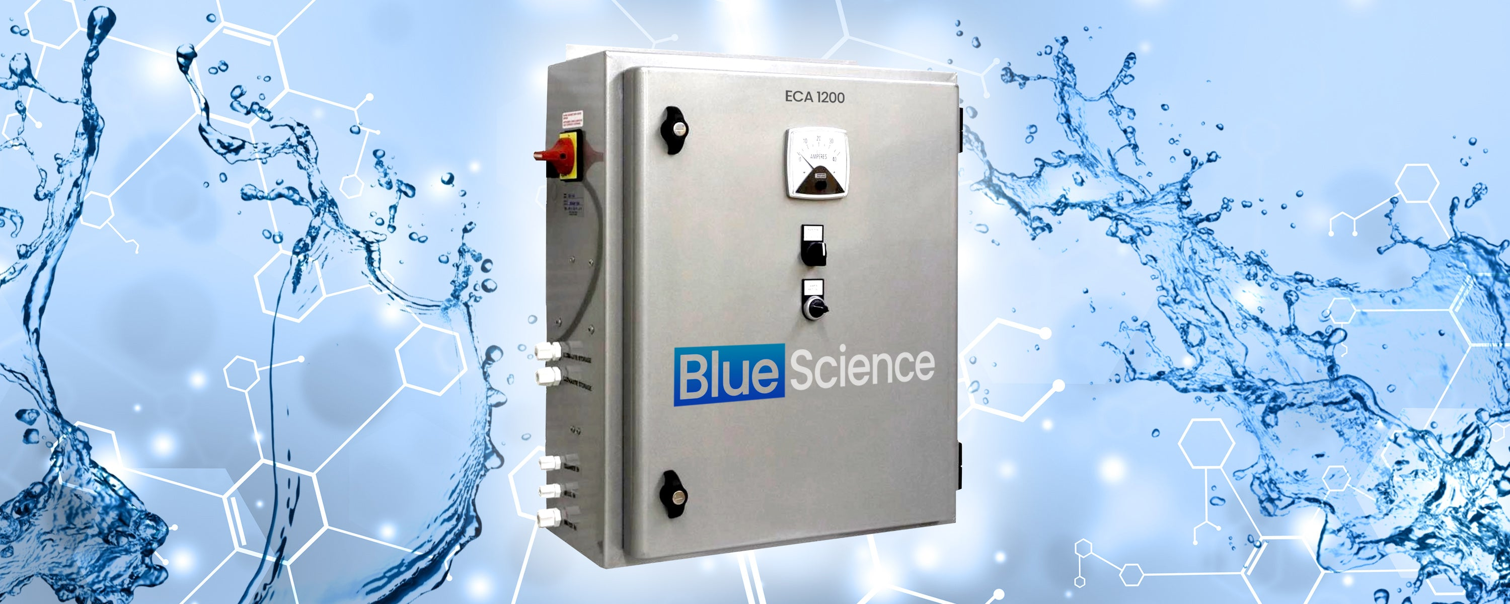 Blue Science Solutions ECA 1200 Production System HOCl Disinfectant