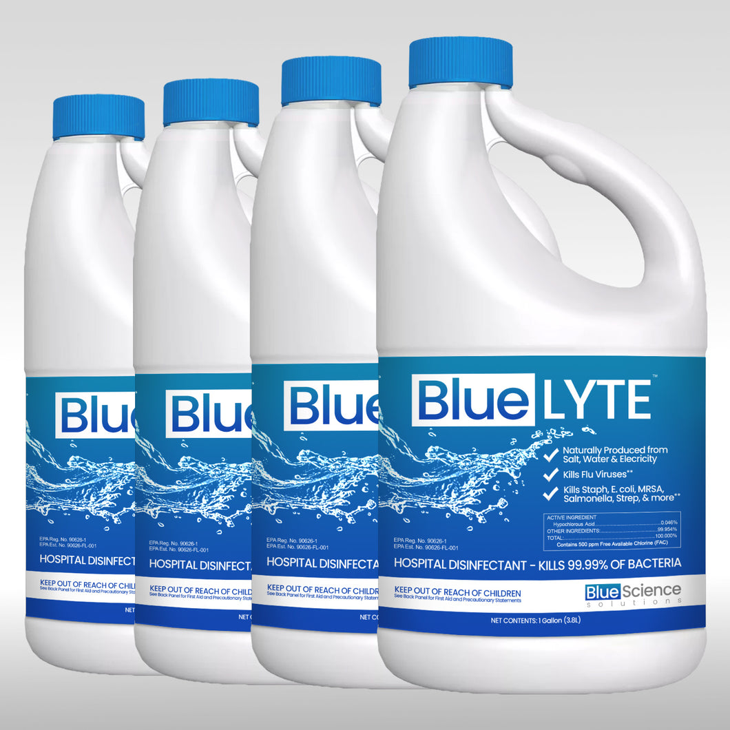 Blue-Lyte Disinfectant 4 Gallons (Case)