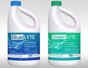 Blue-Lyte / Green-Lyte Demo Pack (4 Gallons)