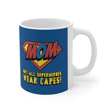 Load image into Gallery viewer, Mom Super Hero Theme Mug 11oz