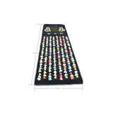 Pebble Plastic Stone Foot Massage Health Mat