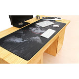 Ninja Dragon Gaming Large Mouse Pad Anti Slip with World Map