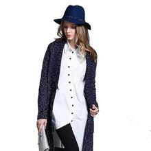 Load image into Gallery viewer, Womens Open Long Cardigan